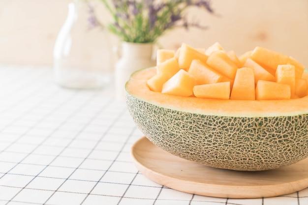 Świeży Melon Kantalupa Darmowe Zdjęcia
