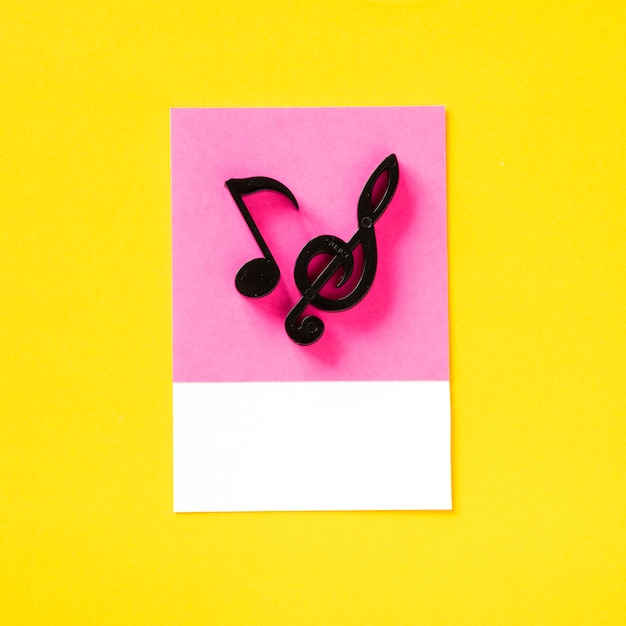 Symbol audio kolorowy nutka Darmowe Zdjęcia