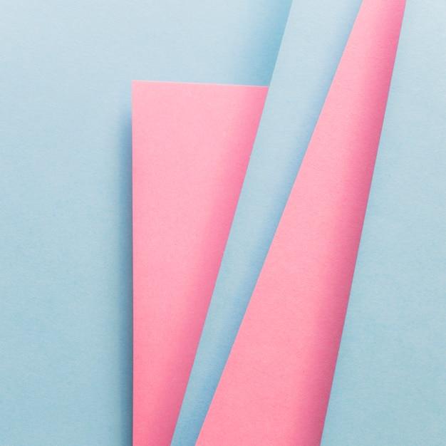 Szablon projektu materiał niebieski i różowy okładka Darmowe Zdjęcia