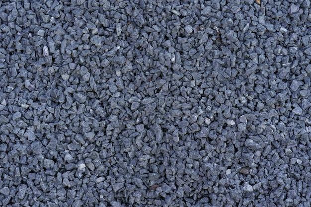 Szare Małe Skały Zmielone Tekstury. Ciemnoszary Mały Kamień Drogowy Tło. Darmowe Zdjęcia