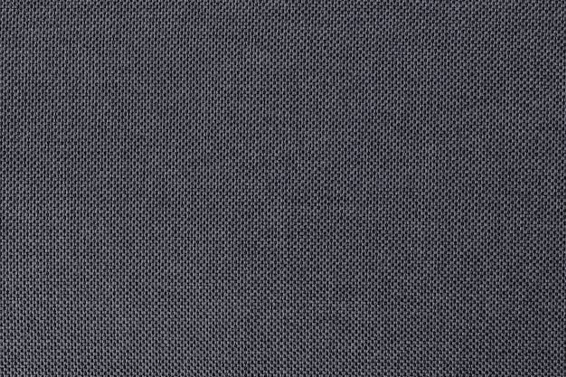 Szary Bawełnianej Tkaniny Tekstury Tło, Bezszwowa Powierzchnia Naturalny Tekstylny. Premium Zdjęcia