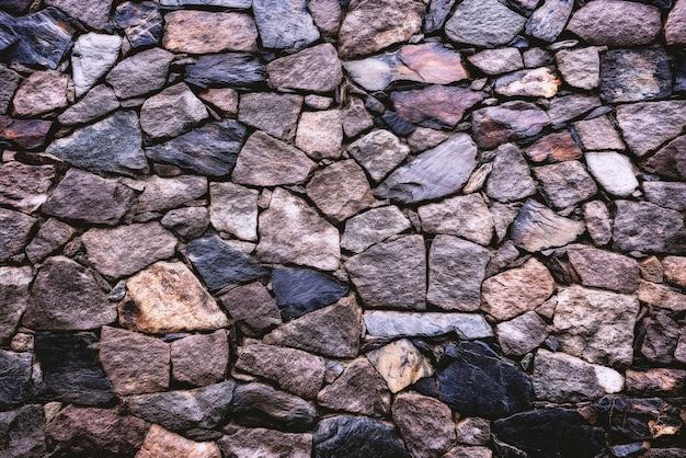 Szary I Brązowy Mur Z Cegły Darmowe Zdjęcia