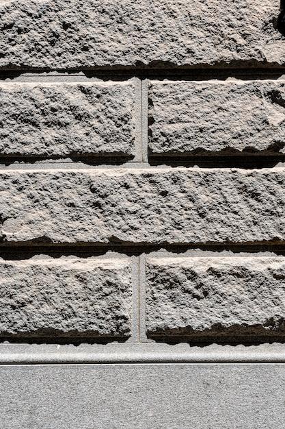 Szary Mur Z Cegły Cementowej Na Zewnątrz Tło Darmowe Zdjęcia