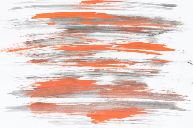 Szarymi I Pomarańczowymi Pociągnięciami Pędzla Darmowe Zdjęcia