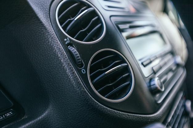 Szczegóły Wnętrza Samochodu Premium Zdjęcia