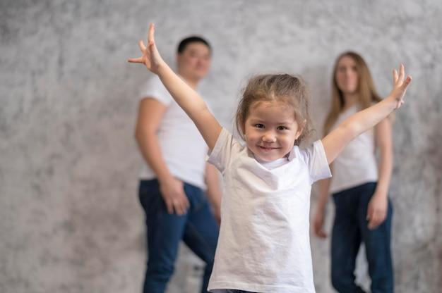Szczęśliwa Dziewczyna I Jej Rodzic Darmowe Zdjęcia