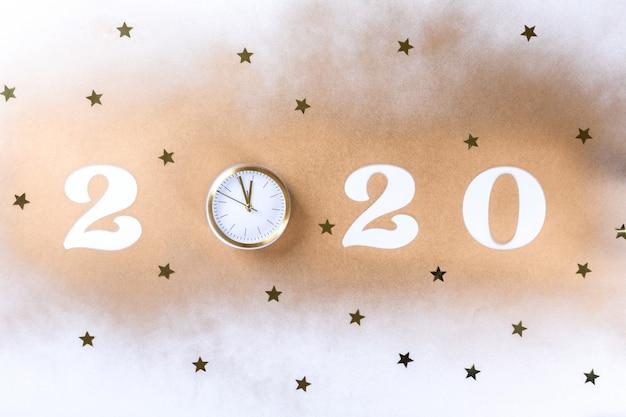 Szczęśliwego nowego roku 2020 Premium Zdjęcia