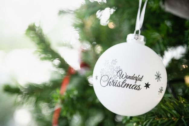 Szczęśliwego Nowego Roku, świąt Bożego Narodzenia I świątecznych Koncepcji. Premium Zdjęcia