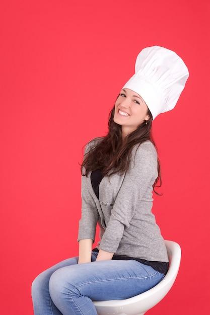Szef kuchni Premium Zdjęcia