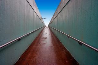 Szerokokątny tunel london Darmowe Zdjęcia