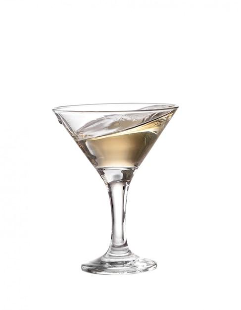 Szklanka Martini Na Białym Tle Premium Zdjęcia