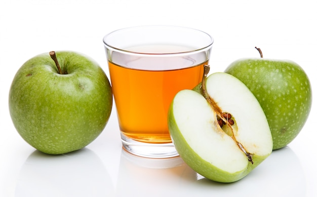 Szklanka soku jabłkowego Darmowe Zdjęcia
