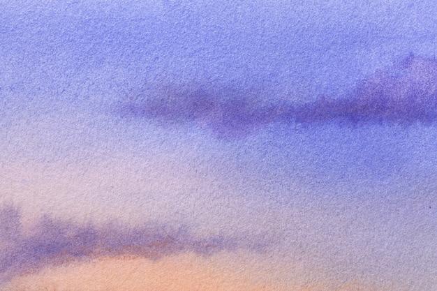 Sztuka Abstrakcyjna Tła W Kolorach Granatowym I Koralowym. Premium Zdjęcia