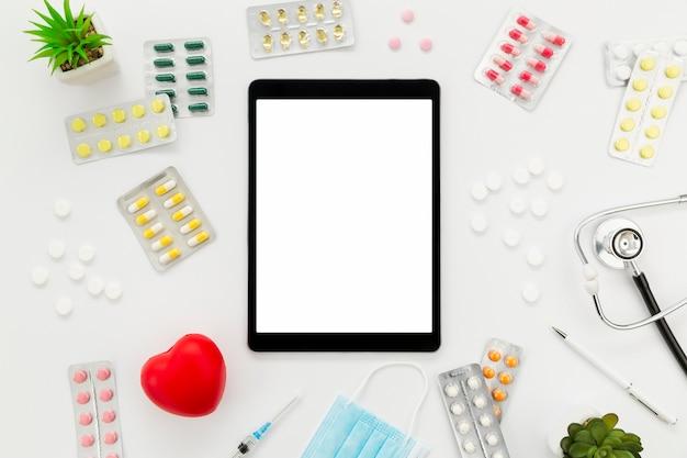 Tablet Z Ramką Pigułek Darmowe Zdjęcia