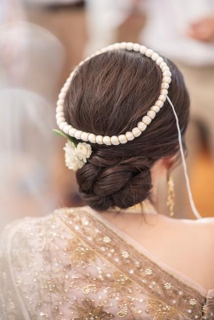 Tajski Tradycyjny ślub I Dekoracje Premium Zdjęcia