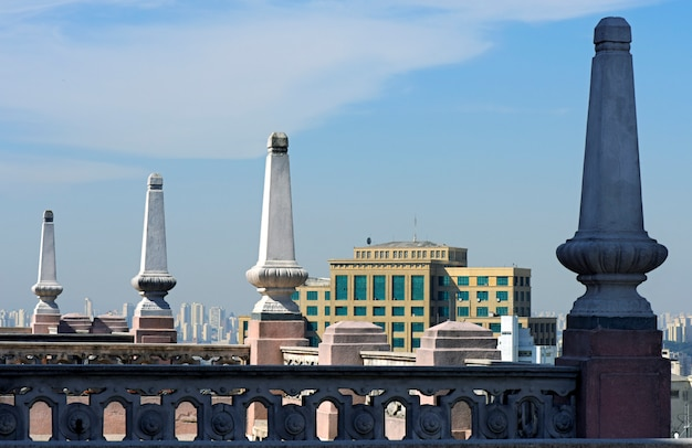 Taras Na Dachu Budynku Martinelli, Pierwszego Wieżowca W Ameryce łacińskiej Premium Zdjęcia