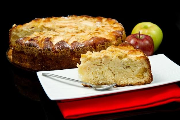 Tarta Jabłkowa Premium Zdjęcia