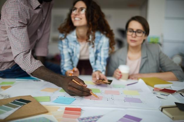 Team Planning Business Prooject Premium Zdjęcia