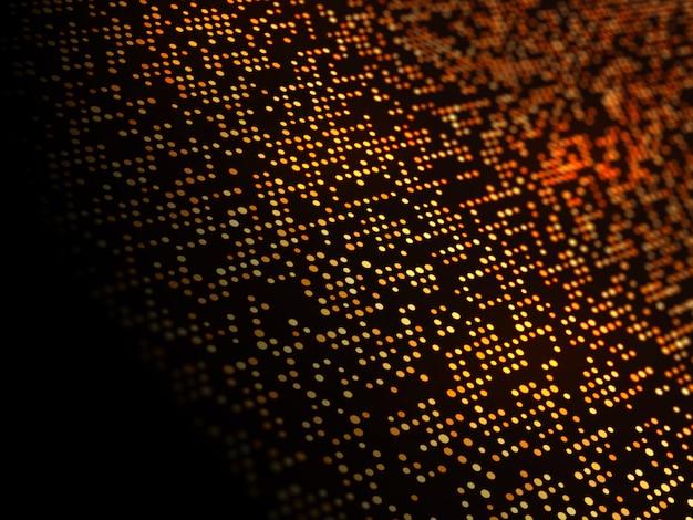 Techno Kropki Streszczenie Tło Darmowe Zdjęcia