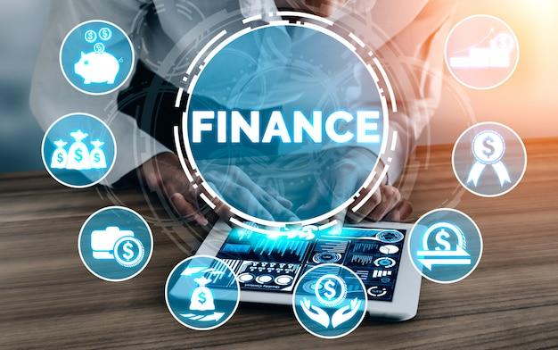 Technologia Finansów I Transakcji Pieniężnych Premium Zdjęcia