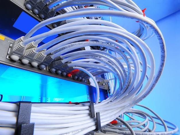 Technologia komputerowa, centrum danych Premium Zdjęcia