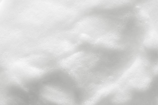 Tekstura Białej Pianki Kosmetycznej Premium Zdjęcia