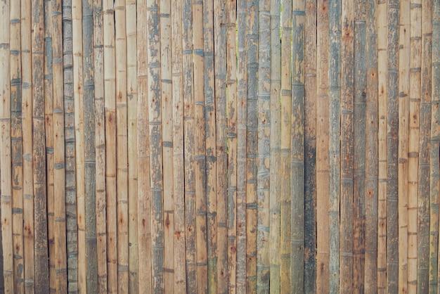 Tekstura Brown Bambusowy Drewniany Tło Premium Zdjęcia