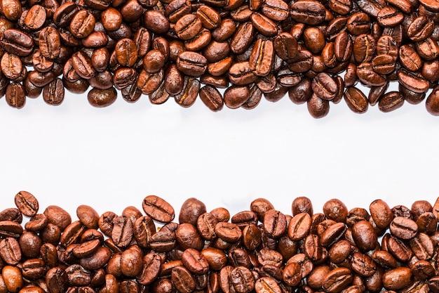 Tekstura Kawowe Fasole Które Stosownie Dla Tła Premium Zdjęcia