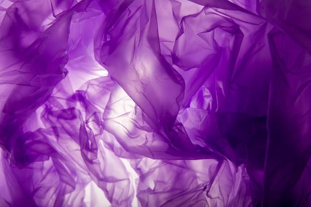 Tekstura plastikowej torby. tło. Premium Zdjęcia