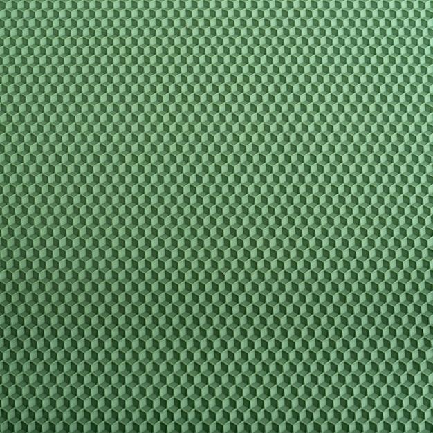 Tekstura Plastra Miodu. Zielone Geometryczne Streszczenie Tło. Szablon. Premium Zdjęcia