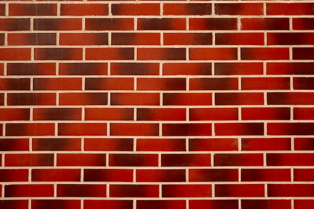 Tekstura ściana z czerwonej cegły. tekstura tło. Premium Zdjęcia