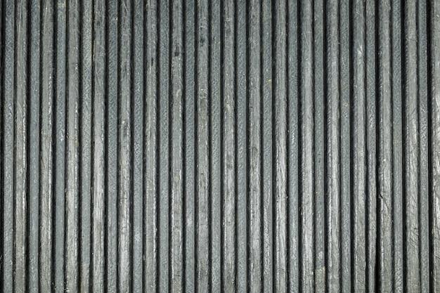 Teksturowana tylna ciężarówka czarna linia Premium Zdjęcia