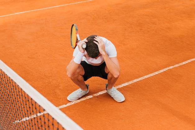Tenisista Przegrywający Grę Darmowe Zdjęcia