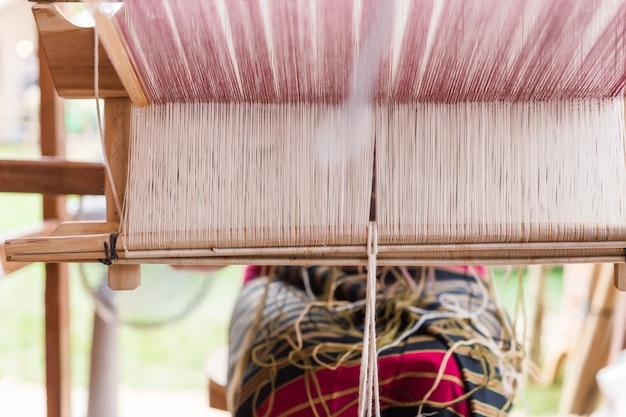 Tkactwo, Tajlandia Premium Zdjęcia