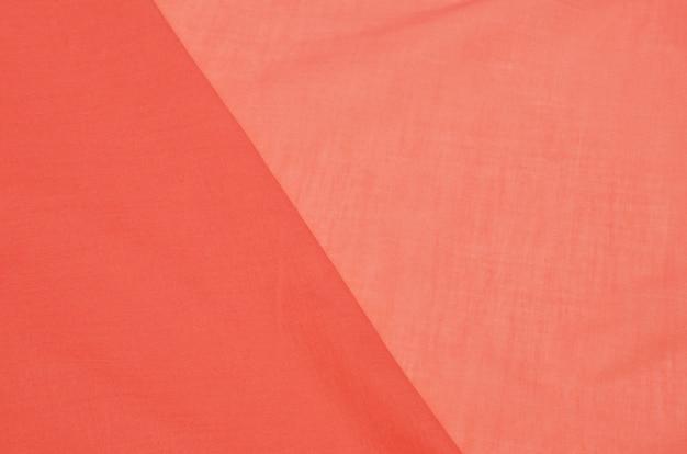Tkanina bawełniana łosoś batiste Premium Zdjęcia