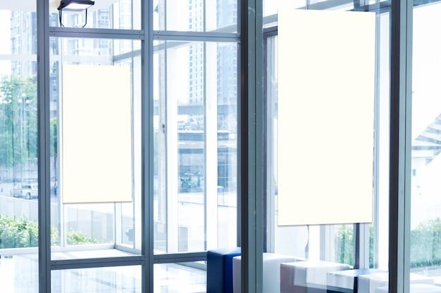 Tkanina Pop Up Podstawowa Jednostka Reklamowy Sztandaru Medialny Pokazu Tło, Pusty Tło Premium Zdjęcia