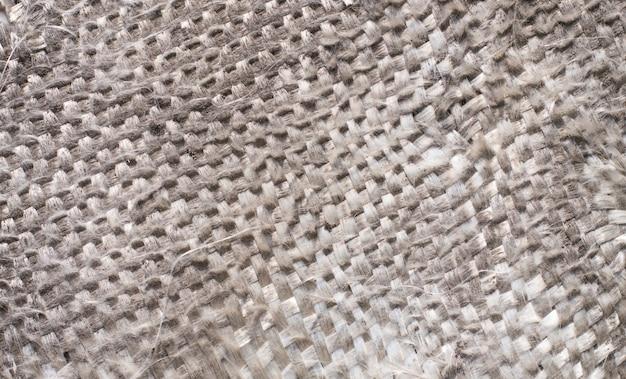 Tkanina W Kolorze Starej Szarej Nici Premium Zdjęcia