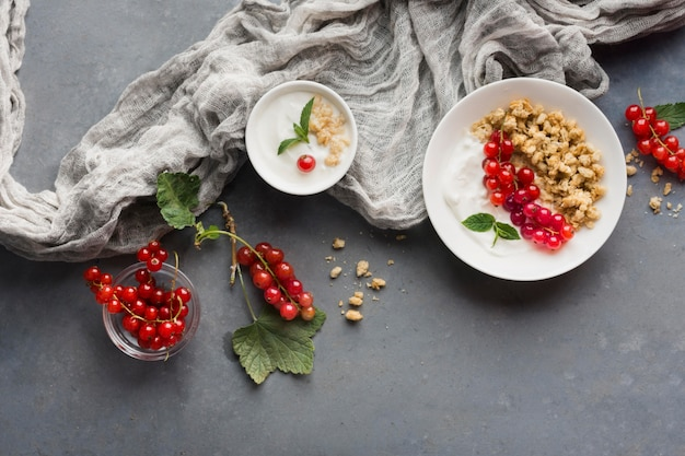 Tkanina Widok Z Góry I Koncepcja Zdrowej żywności Darmowe Zdjęcia