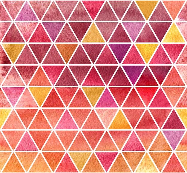 Tle Akwarela Kolorowe Mozaiki Premium Zdjęcia