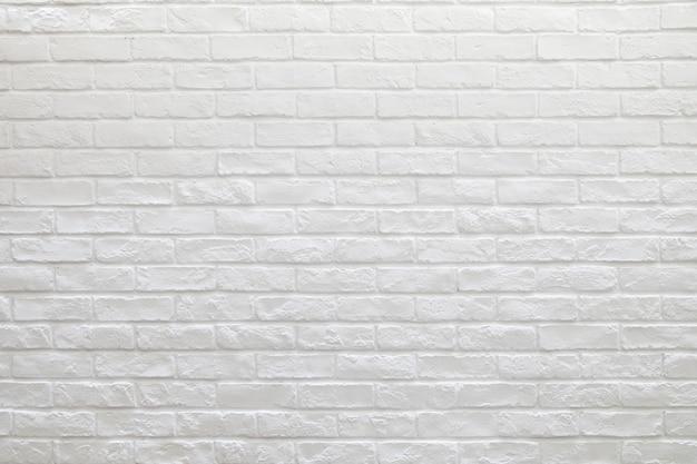 Tło Białe ściany Z Cegieł Premium Zdjęcia