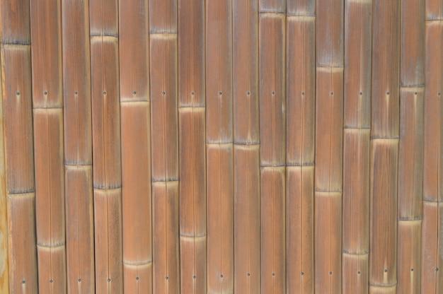 Tło brown bambus deskowa drewniana tekstura. Premium Zdjęcia