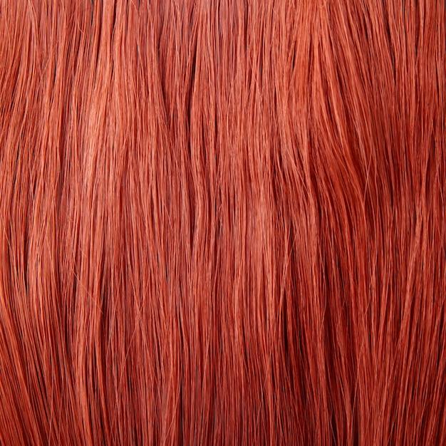 Tło czerwone włosy Premium Zdjęcia