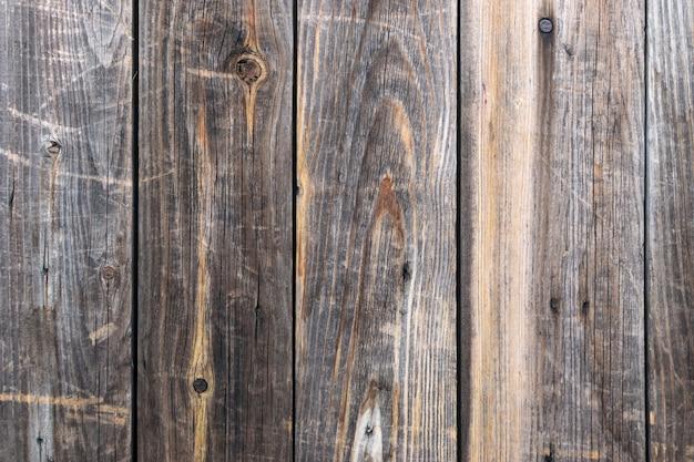 Tło Grunge Z Stare Naturalne Deski Drewniane Premium Zdjęcia