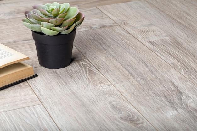 Tło Laminowane. Drewniane Laminowane I Parkietowe Deski Podłogowe W Aranżacji Wnętrz. Tekstura I Wzór Naturalnego Drewna Premium Zdjęcia