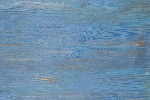 Tło Z Teksturowanej Deski W Kolorze Niebieskim. Premium Zdjęcia
