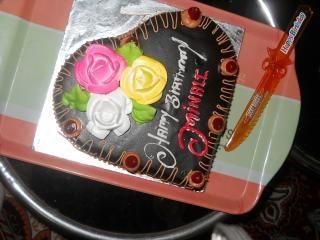 Tort urodzinowy, kwiaty Darmowe Zdjęcia