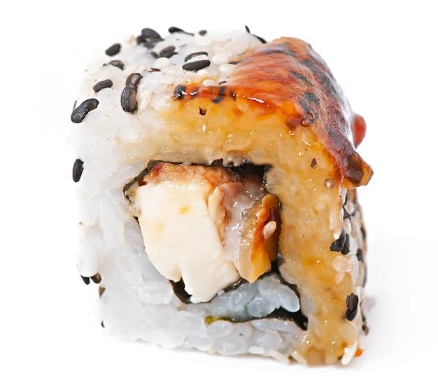 Tradycyjne świeże Japońskie Rolki Sushi Darmowe Zdjęcia