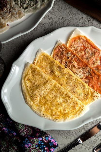 Tradycyjny qutab z mięsem i dynią Darmowe Zdjęcia