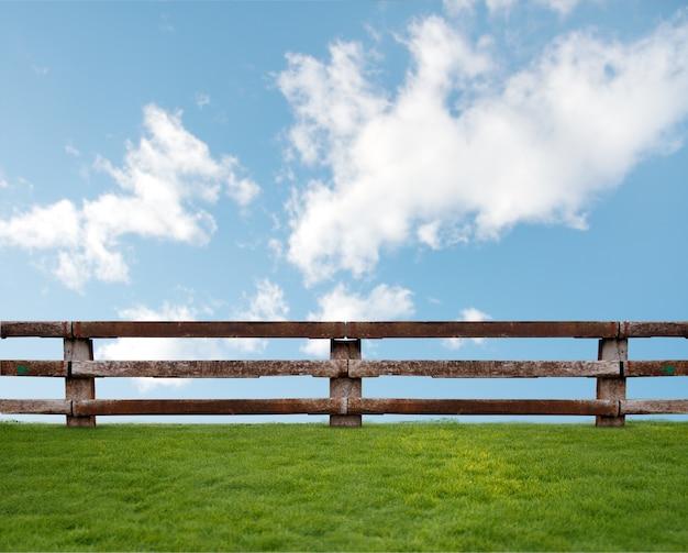 Trawa z chmurami Darmowe Zdjęcia