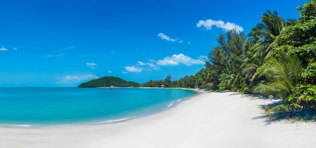 Tropikalna Plaża Na Samui Premium Zdjęcia